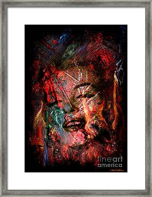 Marilyn Monroe Framed Print by Mark Ashkenazi