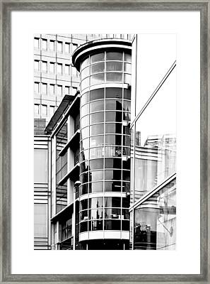Modern Architecture Framed Print by Tom Gowanlock