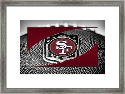 San Francisco 49ers Framed Print by Joe Hamilton