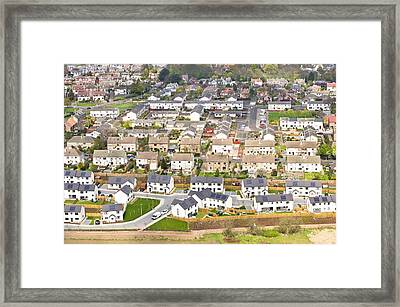 Scottish Houses Framed Print by Tom Gowanlock