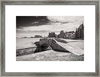 St Andrews 18 Hole Framed Print by Keith Thorburn LRPS