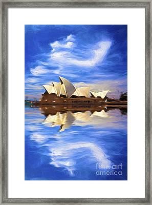 Sydney Opera House Framed Print by Avalon Fine Art Photography