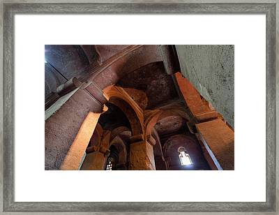The Rock-hewn Churches Of Lalibela Framed Print by Martin Zwick