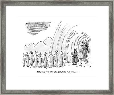 Untitled Framed Print by Mick Stevens