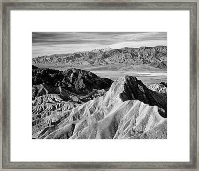Usa, California, Death Valley National Framed Print by Jaynes Gallery