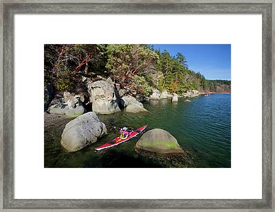 Usa, Washington State Framed Print by Gary Luhm