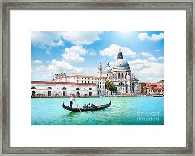 Venice Framed Print by JR Photography
