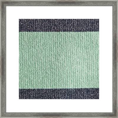 Wool Background Framed Print by Tom Gowanlock