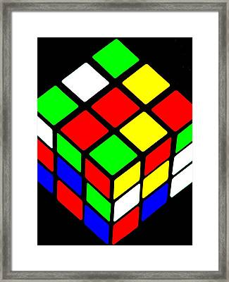 80s Icon Framed Print by Benjamin Yeager