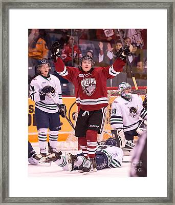 Guelph Storm Framed Print by Rob Andrus