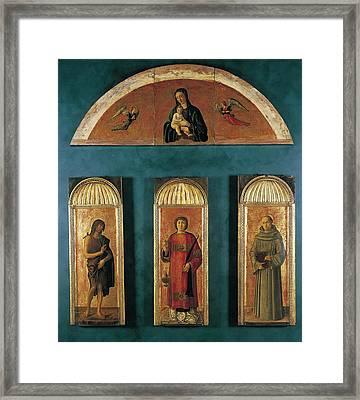 Italy, Veneto, Venice, Accademia Art Framed Print by Everett