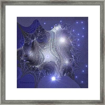 835 - Stellar   Dream Framed Print by Irmgard Schoendorf Welch