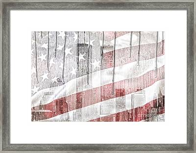 9 11 Framed Print by Mo T