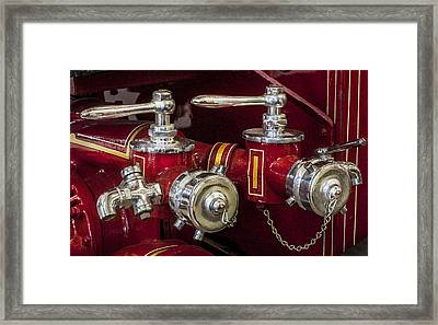 1915 Lafrance Fire Engine  Framed Print by Rich Franco