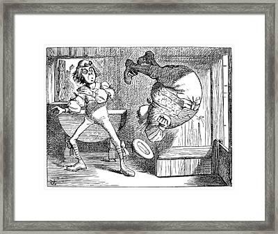 Alice In Wonderland, 1865 Framed Print by Granger