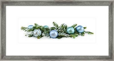 Christmas Ornaments Framed Print by Elena Elisseeva