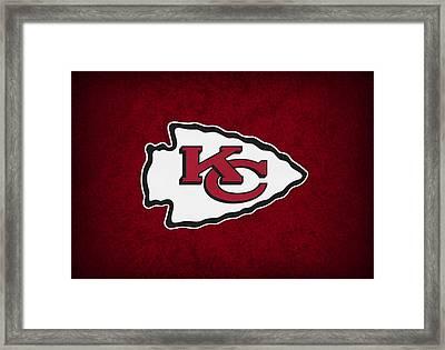 Kansas City Chiefs Framed Print by Joe Hamilton