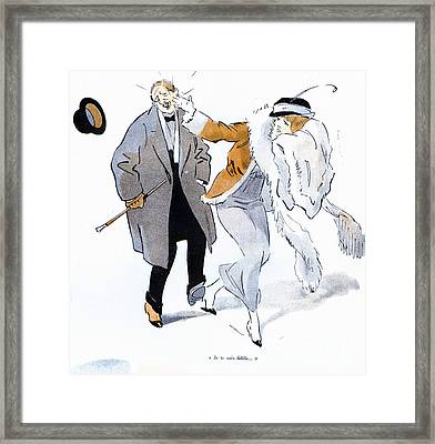 La Vie Parisienne 1910s France Glamour Framed Print by The Advertising Archives