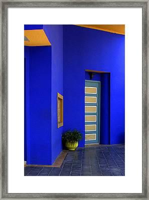Majorelle Garden Marrakesh Morocco Framed Print by Ralph A  Ledergerber-Photography