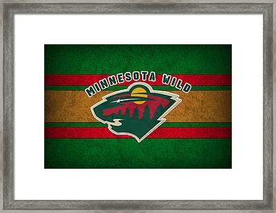 Minnesota Wild Framed Print by Joe Hamilton