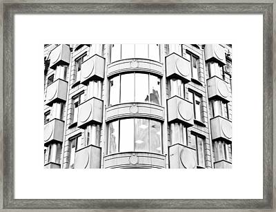 Modern Architecture Framed Print by Tom Gowanlock