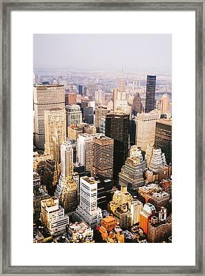 New York City Framed Print by Vivienne Gucwa