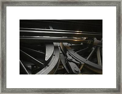 Old Train Framed Print by Gary Marx