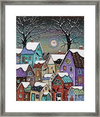 9 Pm Framed Print by Karla Gerard