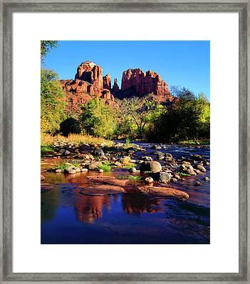 Usa, Arizona, Sedona Framed Print by Jaynes Gallery
