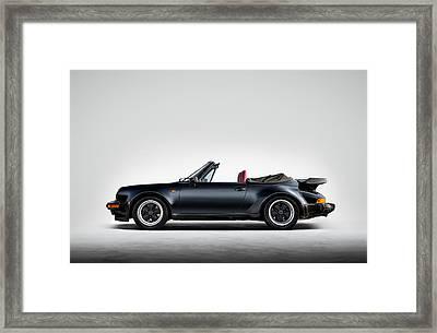 911 Cabrio Framed Print by Douglas Pittman
