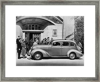 936 Studebaker Dictator Framed Print by Underwood Archives