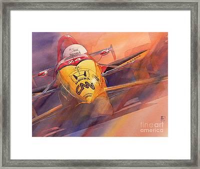 95 Winner Framed Print by Robert Hooper