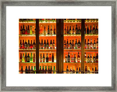 99 Bottles Of Beer On The Wall Framed Print by Semmick Photo