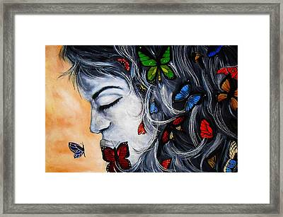 A Beautiful Daydream Framed Print by Michelle Pope