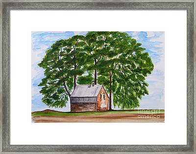 A Beautiful Place On Earth Framed Print by Christine Huwer