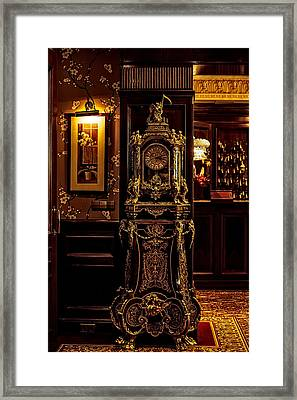 A Beauty Of The Old Hotels. Hotel Estherea. Amsterdam Framed Print by Jenny Rainbow