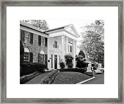 A Bit Of Graceland Framed Print by Julie Palencia