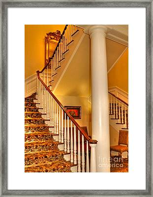 A Bit Of Southern Style Framed Print by Kathy Baccari