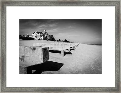 A Board To Walk No More Framed Print by Wayne Stacy