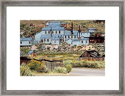 A Bodie View From Above Framed Print by Joseph Coulombe