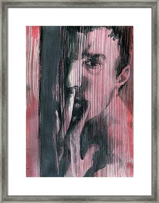A Boy Named Silence Framed Print by Rene Capone