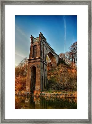 A Bridge No More Framed Print by Mountain Dreams