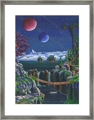 A Bridge Over Troubled Waters Framed Print by James Taylor