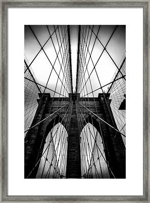 A Brooklyn Perspective Framed Print by Az Jackson