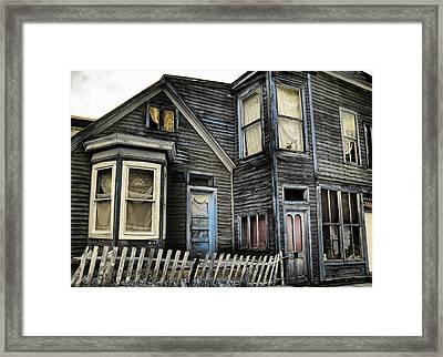 A Bygone Era Framed Print by Ellen Heaverlo