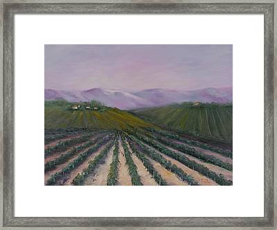 A California Morning Framed Print by Darice Machel McGuire
