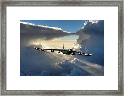 A Call To Arms Framed Print by Peter Chilelli