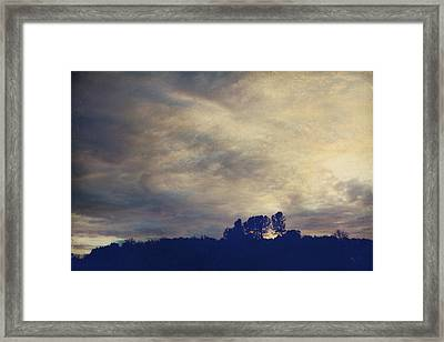 A Calm Sets In Framed Print by Laurie Search