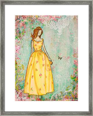 A Charmed Life Framed Print by Janelle Nichol