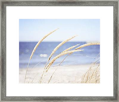 A Child Of The Summer Breeze Framed Print by Carolyn Cochrane